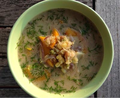 Zielona i Zdrowa Zupa Quinoa & Kiełki