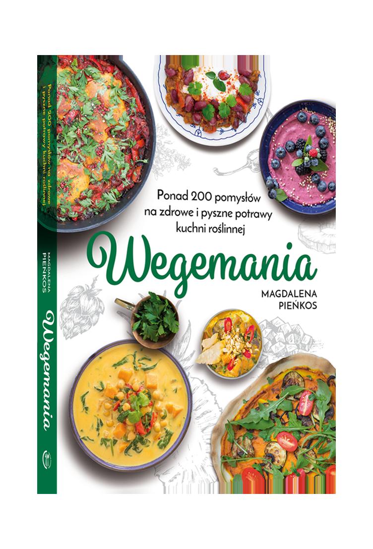 Książka WEGEMANIA Magdalena Pieńkos