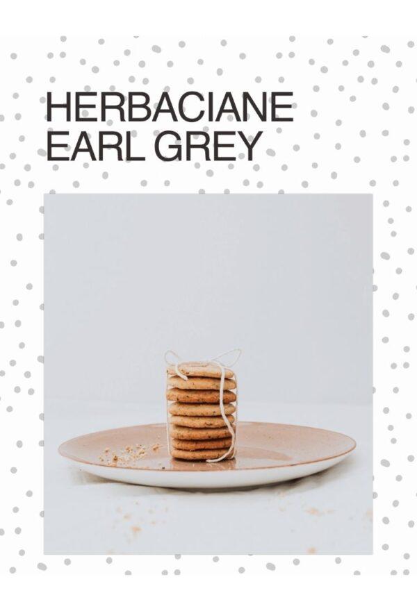 Ebook Niebieski Migdał Wegańskie słodkości_Ciasteczka Earl Grey
