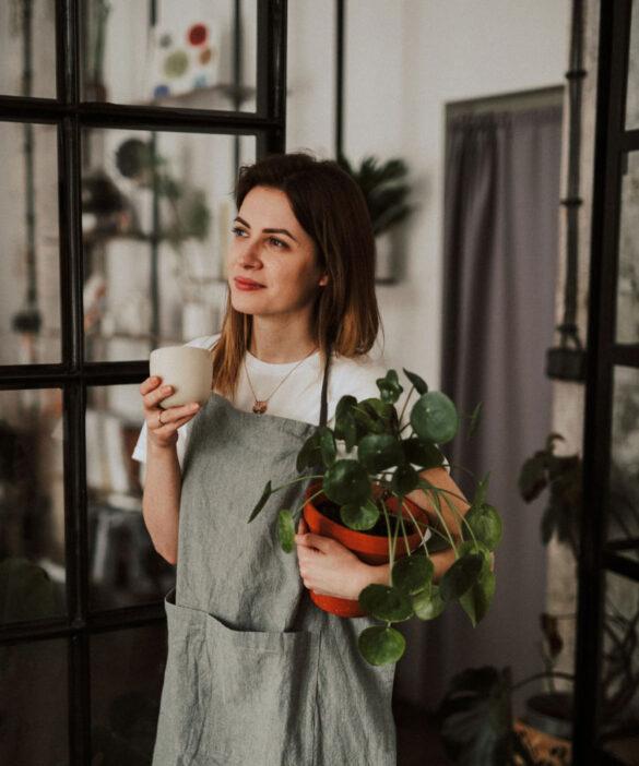 Herbaciane LOVE_NIebieski Migda