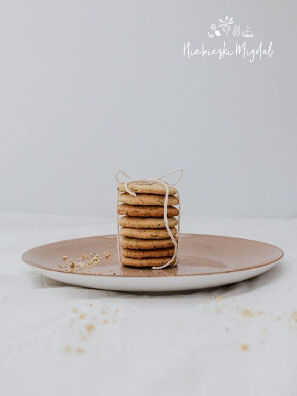 Wegańskie ciasteczka earl grey_Przepis Niebieski Migdał