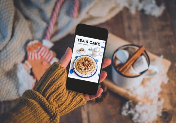Ebook TEA&CAKE Od ciasta do herbaty VEGE _Wegańskie słodkości